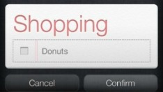 Siri Shopping List