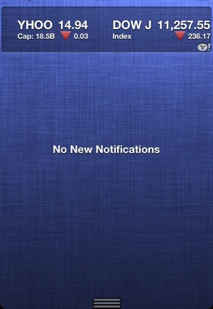 Notification Center Colors