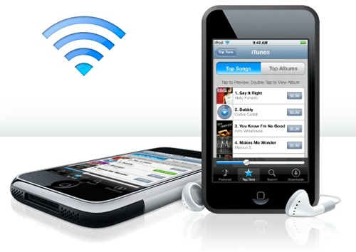 iPhone WiFi Sync