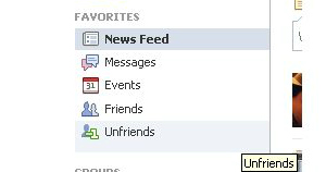 unfriends list