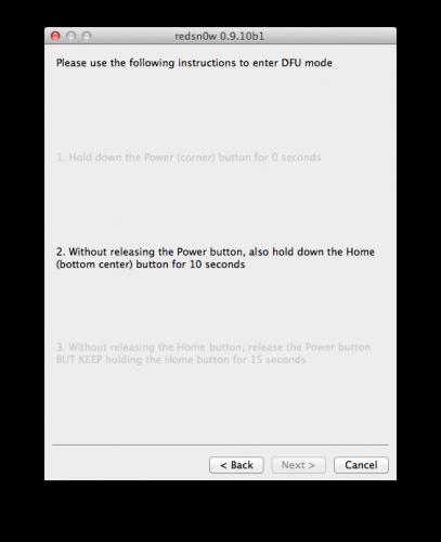 Untethered Jailbreak On iOS 5.0.1 [Mac]
