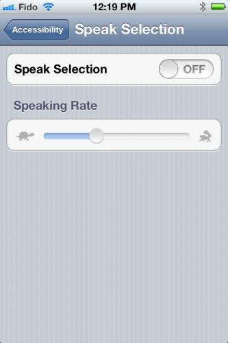 Read Selected Text With Siri