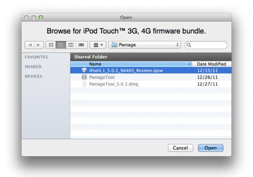 iPod Toch 4G Jailbreak