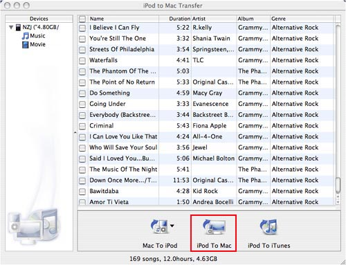 Backup Music from iPhone To PC or Mac