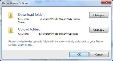 iCloud Photo Stream