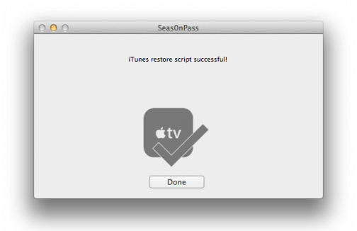 JailBreak AppleTV Seas0nPass