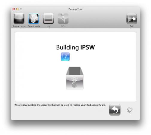 iPad 1 Jailbreak with Pwnage Tool