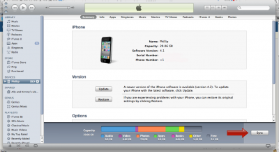 Update to iOS 5