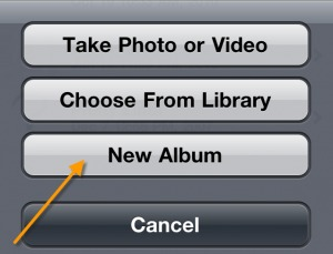 Upload iPhone Photos to Facebook