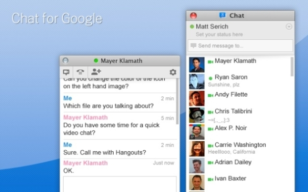 Google_Chat_extension