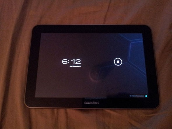 Flash Android ICS On Galaxy Tab