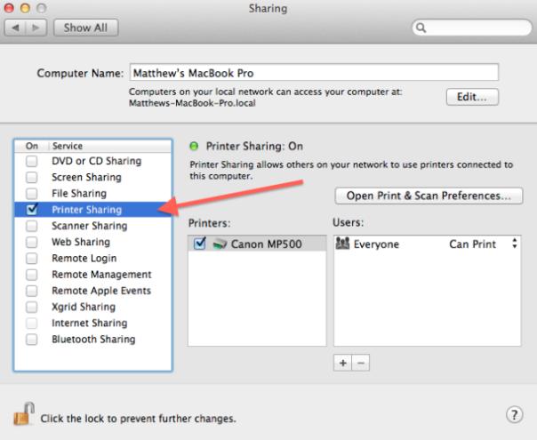 printer_sharing_settings iDevice