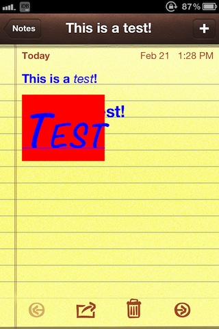 Rich-Text-for-Notes-Screenshot