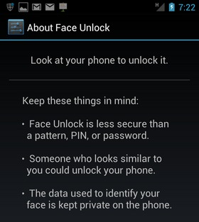 Android Face-Unlock