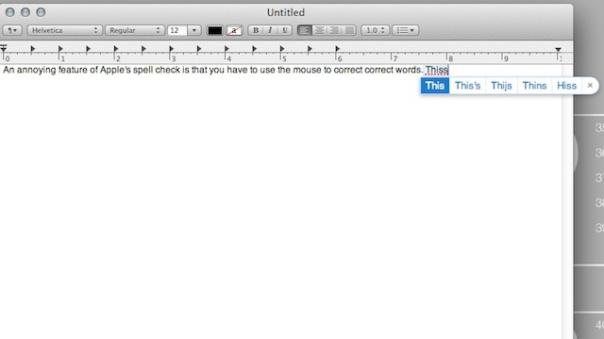 Keyboard shortcut in OS X