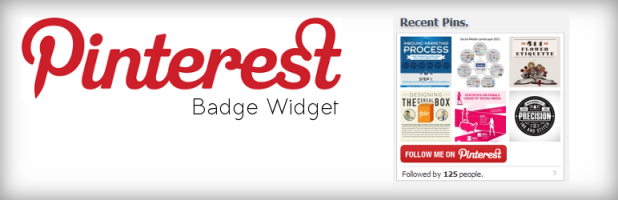 Pinterest Badge Widget