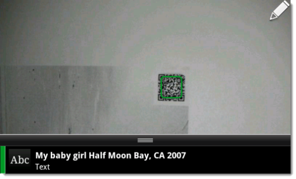 photos with QR codes