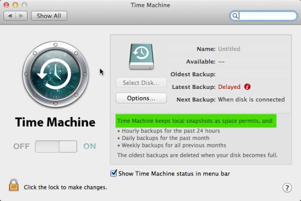 time machine scheduler