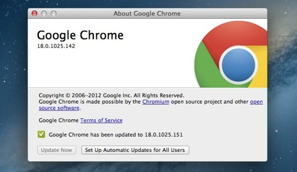 google-chrome-automatic-update
