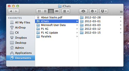 iMessage-iChat