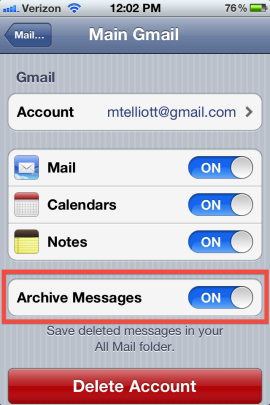 Recover Archived or Deleted Emails